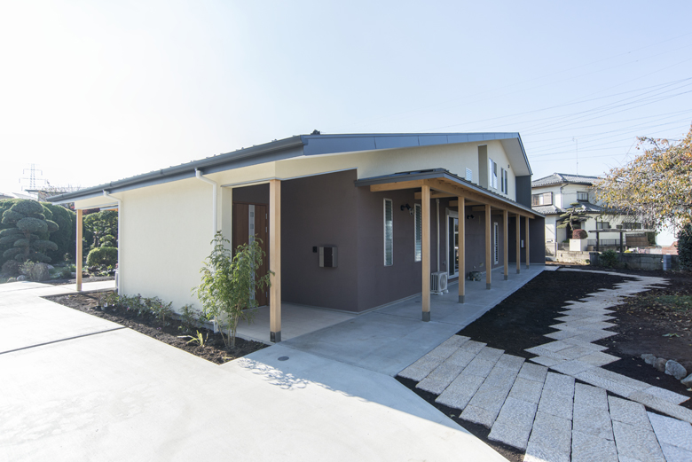 地と空の家 2014